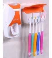 Toothpest Dispenser With Brush
